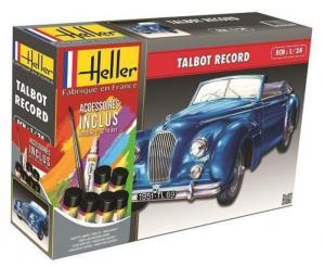 Zestaw z farbami Talbot Record Heller 56711