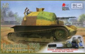 Zestaw z farbami Tankietka TKS z CKM Hotchkiss IBG E3502