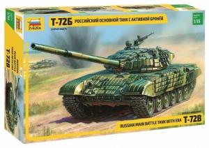 Zvezda 3551 Czołg T-72B model 1-35
