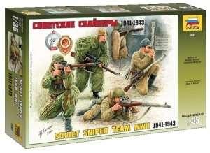 Zvezda 3597 Soviet Sniper Team WWII