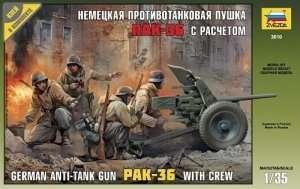 Zvezda 3610 PAK-36 with crew