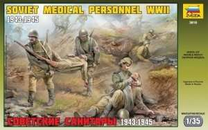 Zvezda 3618 Soviet Medical Personnel WWII