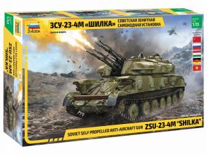 Zvezda 3635 Działo przeciwlotnicze ZSU-23-4M Szyłka