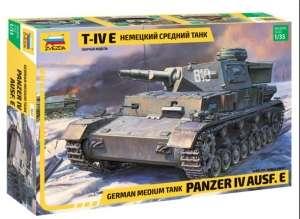 Zvezda 3641 Czołg Panzerkampfwagen IV Ausf.E