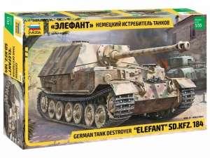 Zvezda 3659 Niszczyciel czołgów Elefant Sd.Kfz.184