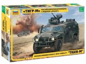 Zvezda 3683 Samochód pancerny Tigr-M skala 1-35