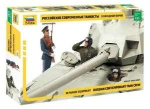 Zvezda 3685 Figurki - rosyjska załoga czołgu