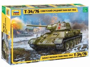Zvezda 3686 Czołg T-34/75 mod. 1942
