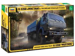 Zvezda 3697 Ciężarówka KamAZ K-5350 Mustang skala 1-35