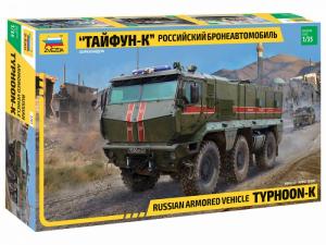 Zvezda 3701 Typhoon-K rosyjski pojazd wojskowy
