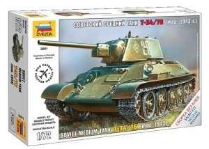 Zvezda 5001 Soviet medium tank T-34/76 m.1943