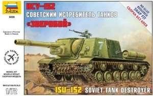 Zvezda 5026 Soviet Tank Destroyer ISU-152