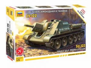 Zvezda 5043 Niszczyciel czołgów SU-122 do składania