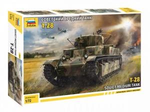Zvezda 5064 Czołg T-28 model 1-72