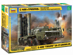 Zvezda 5068 S-400 Triumf system obrony przeciwlotniczej