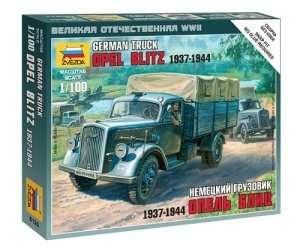 Zvezda 6126 German truck Opel Blitz 1937-1944