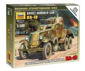 Zvezda 6149 Soviet Armored Car BA-10
