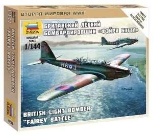 Zvezda 6218 British Light Bomber Battle