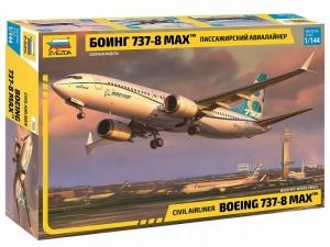 Zvezda 7026 Samolot pasażerski Boeing 737-8 Max