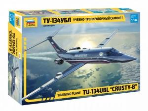 Zvezda 7036 Samolot szkoleniowy Tu-134UBL Crusty B