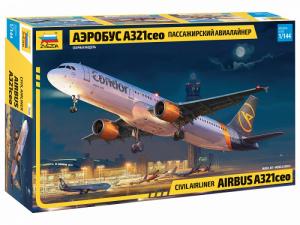 Zvezda 7040 Samolot pasażerski Airbus A321ceo model 1-144