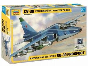 Zvezda 7217 Samolot Su-39 Frogfoot model 1-72