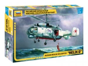 Zvezda 7247 Helikopter Ka-27 Helix D w skali 1-72