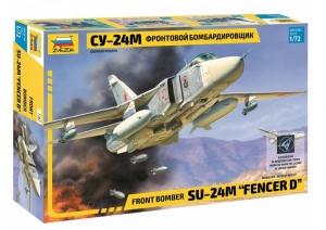 Zvezda 7267 Samolot Suchoi SU-24M Fencer D