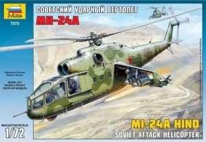 Zvezda 7273 Helikopter MIL MI-24A Hind