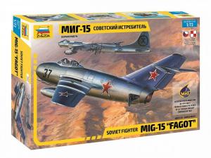 Zvezda 7317 Samolot MiG-15 Fagot polska kalkomania