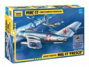 Zvezda 7318 Samolot MiG-17 Fresco