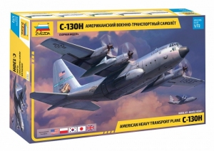 Zvezda 7321 Samolot transportowy C-130H Hercules