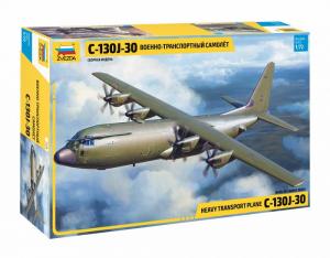 Zvezda 7324 Samolot transportowy C-130J-30 model 1-72