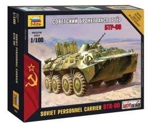 Zvezda 7401 Soviet Personnel Carrier BTR-80