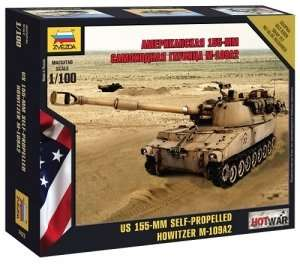 Zvezda 7422 M109 Howitzer
