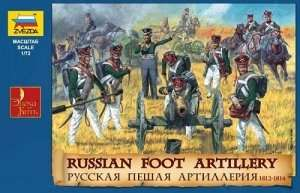 Zvezda 8022 Russian Foot Artillery 1812-1815