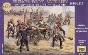 Zvezda 8028 French Foot Artillery 1810-1814