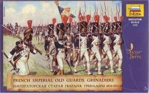 Zvezda 8030 French Emperors Old Guards 1805-1815