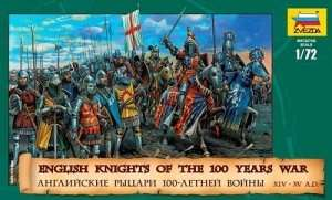 Zvezda 8044 English Knights 100 Years War