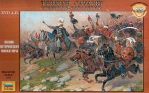 Zvezda 8054 Turkish Cavalry XVII Century