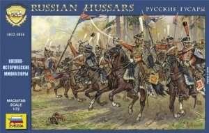 Zvezda 8055 RUSSIAN HUSSARS, 1812-1814