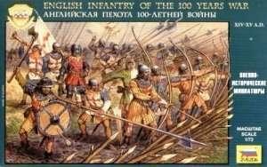 Zvezda 8060 English Infantry 100th Year War