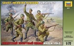 Zvezda 8077 Soviet Infantry WWII