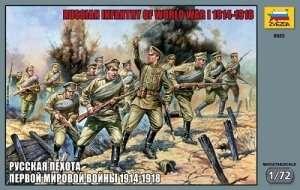Zvezda 8082 Russian Infantry WWI