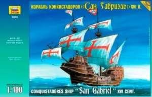 Zvezda 9008 Conquistadores Ship XVI Century