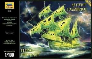 Zvezda 9042 Flying Dutchman Pirate Ghost Ship