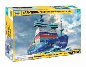 Zvezda 9044 Rosyjski lodołamacz z napędem atomowym Arktika model 1-350