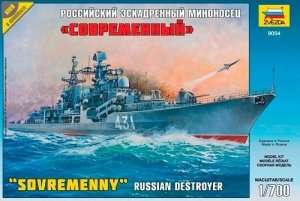 Zvezda 9054 Russian Destroyer Sovremenny