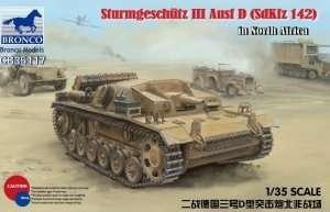 Bronco CB35117 StuG. III Ausf. D in North Africa