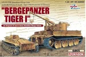 Dragon 6865 Bergepanzer Tiger I mit Borgward IV